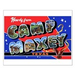 Camp Maxey Texas Small Poster