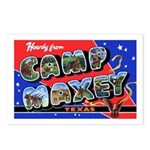 Camp Maxey Texas Postcards (Package of 8)