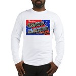 Camp Maxey Texas (Front) Long Sleeve T-Shirt