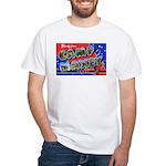 Camp Maxey Texas White T-Shirt
