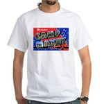Camp Maxey Texas (Front) White T-Shirt