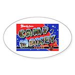 Camp Maxey Texas Oval Sticker