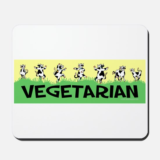 Vegetarian Cows Mousepad