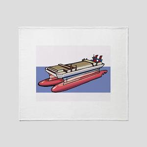 Boat Throw Blanket