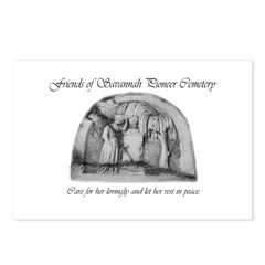#1 Savannah Pioneer Cemetery Postcards (Pkg of 8)