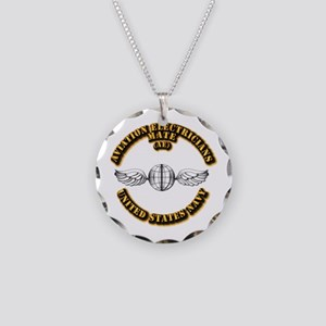 Navy - Rate - AE Necklace Circle Charm