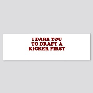 FANTASY FOOTBALL 2006 DRAFT D Bumper Sticker