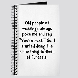 Old People Funerals Journal