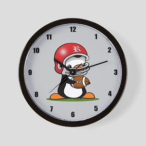 Grid Iron Popo Wall Clock