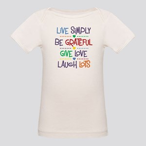 d93658546f1b4 Live Simply Organic Baby T-Shirts - CafePress