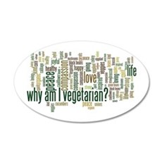 Why Am I Vegetarian Wall Decal
