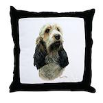 Basset Griffon Vendeen Throw Pillow