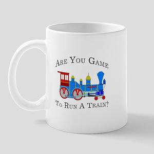 Game To Run A Train -  Mug