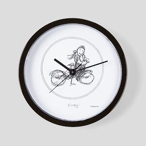 City Cindy! Wall Clock