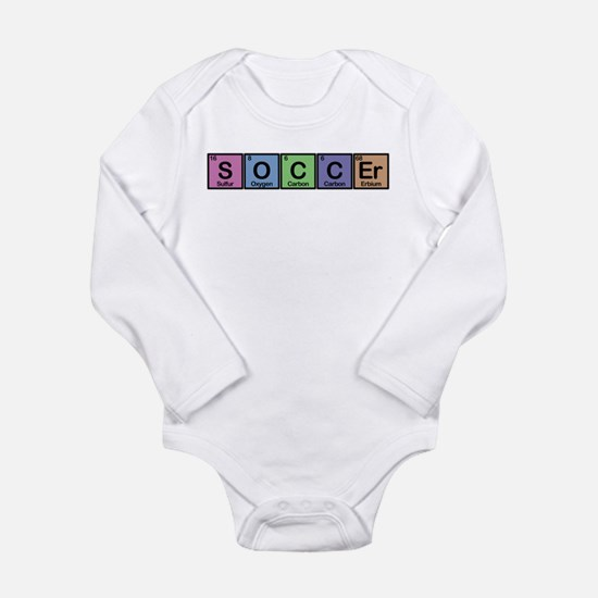 Soccer made of Elements colors Long Sleeve Infant