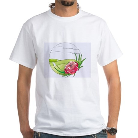 Mountain White T-Shirt