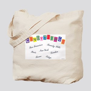 Cindythings Int'l. Tote Bag