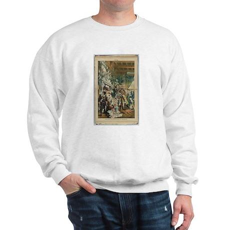 "Illustration from ""Puck"" April 1883 Sweatshirt"