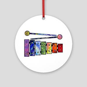 Wild Xylophone Ornament (Round)