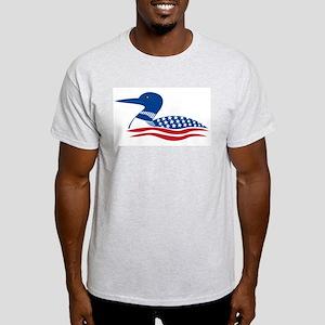 Proud Loon: Ash Grey T-Shirt