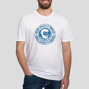Beard Grower Fitted T-Shirt