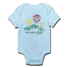 Earth Laughs In Flowers color Infant Bodysuit