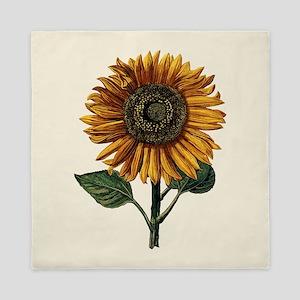 Daniel Froeschl Sunflower Queen Duvet