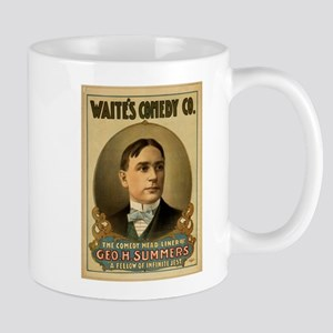 Waite's Comedy Co. Poster Mug