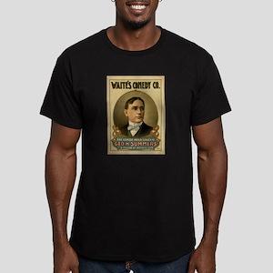 Waite's Comedy Co. Poster Men's Fitted T-Shirt (da