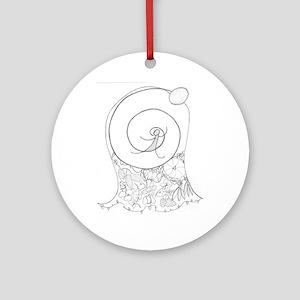 Cornucopia Mother Ornament (Round)