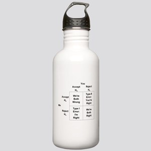 Type I and II Errors Stainless Water Bottle 1.0L