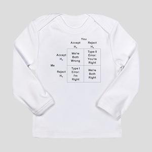 Type I and II Errors Long Sleeve Infant T-Shirt