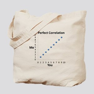 Perfect Correlation Tote Bag