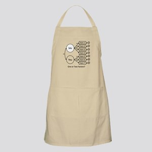 One or Two Factors? Apron