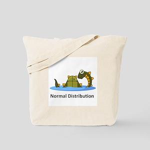 Normal Distribution Tote Bag