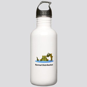 Normal Distribution Stainless Water Bottle 1.0L