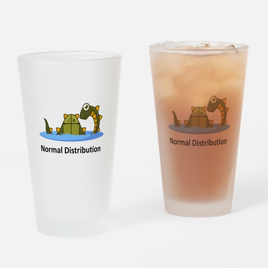 Normal Distribution Drinking Glass