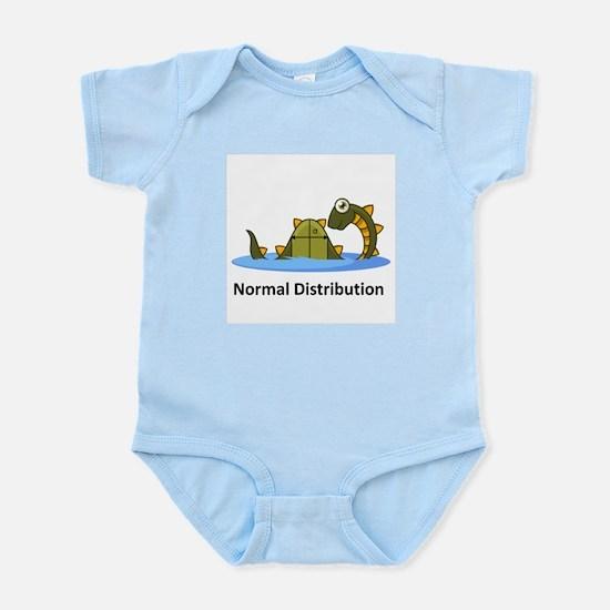 Normal Distribution Infant Bodysuit
