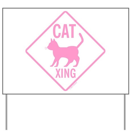 CatCrossingSignSeeThrghPink_FV.png Yard Sign