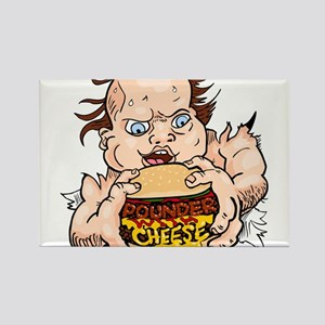 Hungry Sweaty Baby Rectangle Magnet