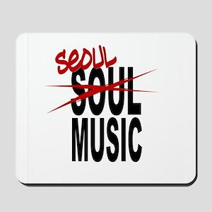 Seoul Music (K-pop) Mousepad
