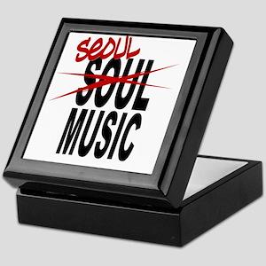 Seoul Music (K-pop) Keepsake Box