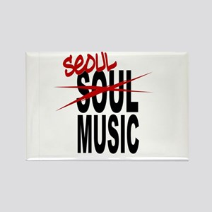 Seoul Music (K-pop) Rectangle Magnet