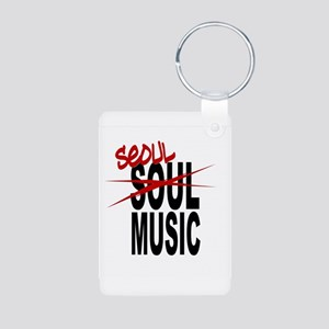 Seoul Music (K-pop) Aluminum Photo Keychain