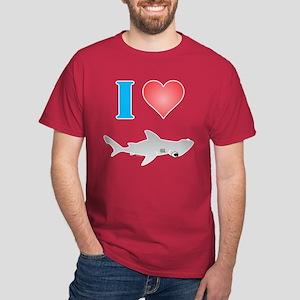 I Love Hammerheads Dark T-Shirt