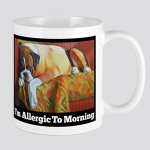 Allergic to Morning Mug