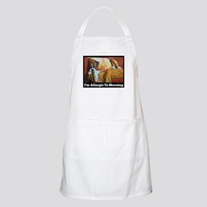 Allergic to Morning Apron