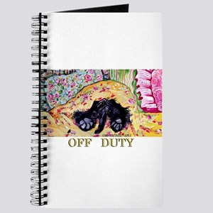 Off Duty Scottish Terrier Journal