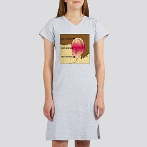 Does my head look funny to you? Women's Nightshirt