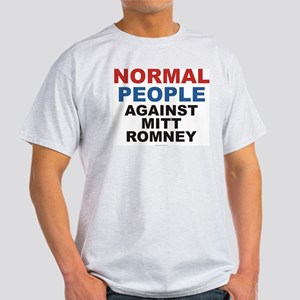 Anti Romney t-shirt - NORMAL PEOPLE AGAINST ROMNEY
